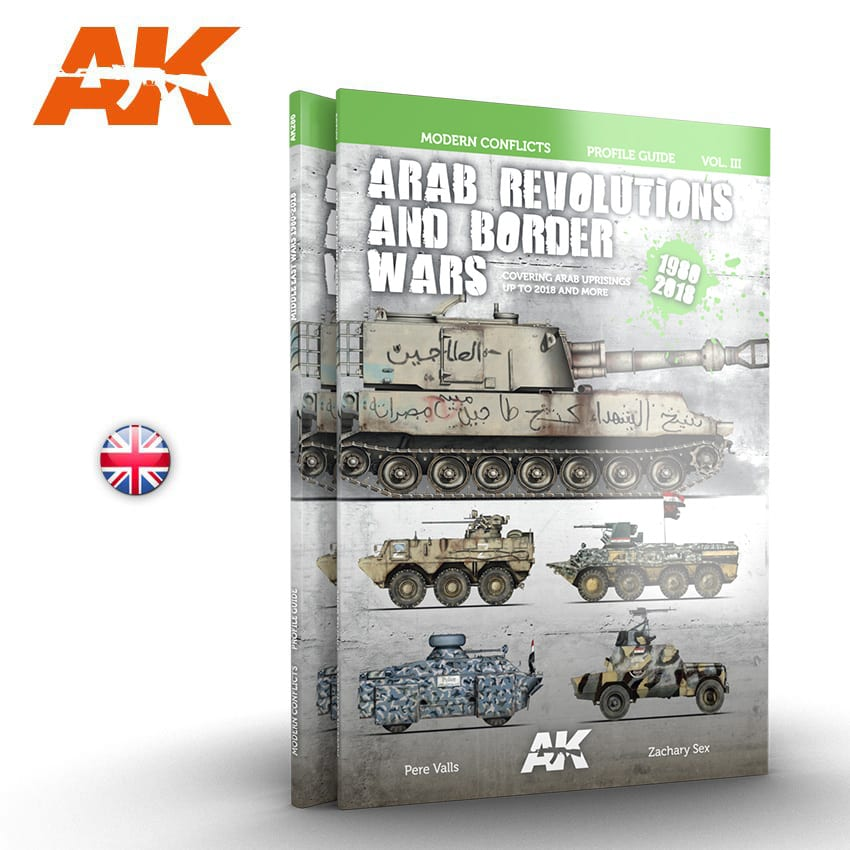 AK Interactive ARAB REVOLUTIONS AND BORDER WARS VOL3 - English