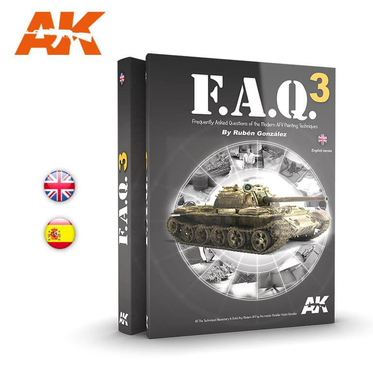 AK Interactive FAQ3  Military Vehicles  - English
