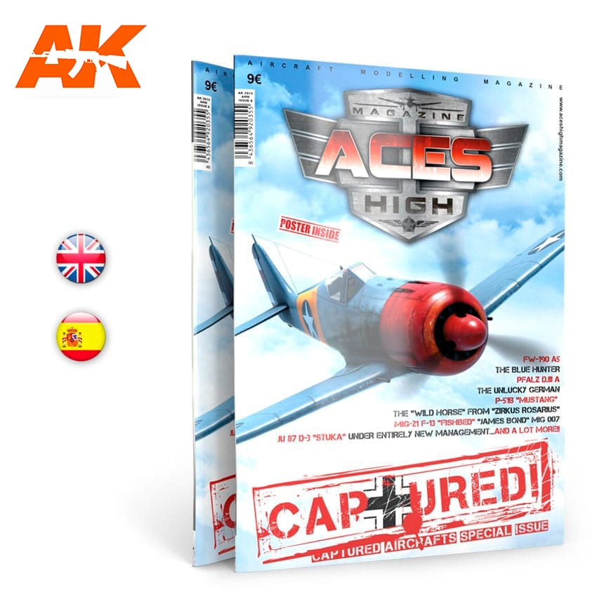 AK Interactive Aces High No 8. Captured - English