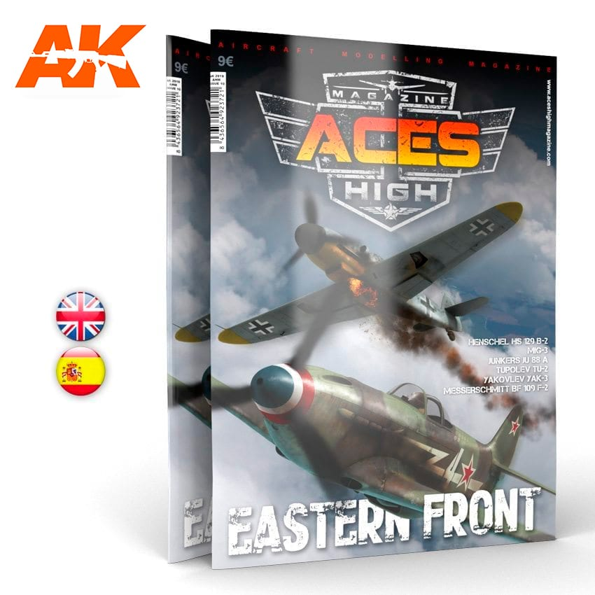 AK Interactive Aces High No 10. Eastern Front - English
