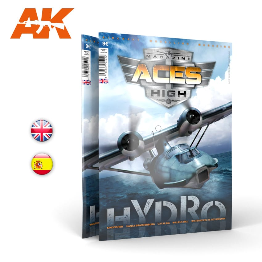 AK Interactive Aces High No 12. Hydros - English