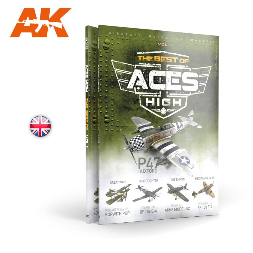 AK Interactive ACES HIGH Magazine THE BEST OF. VOL1