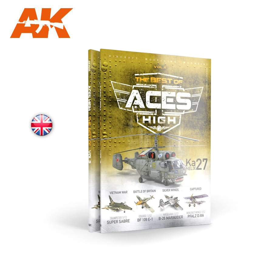 AK Interactive ACES HIGH Magazine THE BEST OF. VOL2