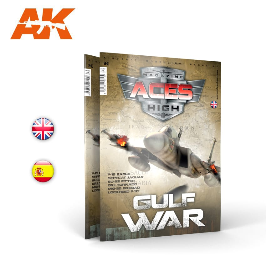 AK Interactive Issue Aces High No 13. Gulf War - English