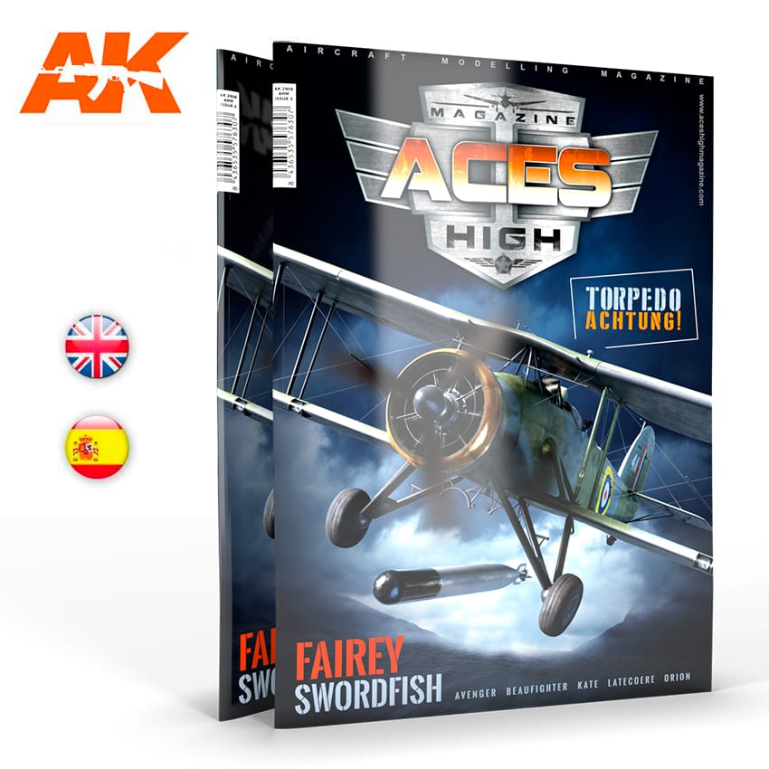 AK Interactive Aces High Magazine No 17: Torpedo Achtung! - English