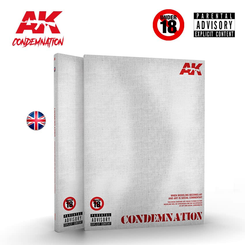 AK Interactive Condemnation Re-Edited Edition, English - Limited Ed