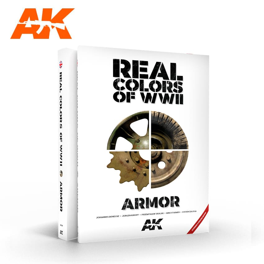 AK Interactive Real Colors Of WWII Armor New 2nd Extended Update Version -English