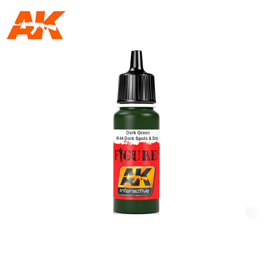 AK Interactive Dark Green / M-44 Dark Spots & Dosts