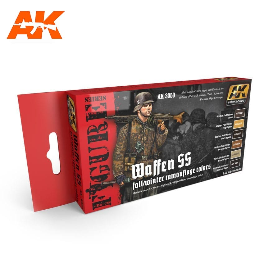 AK Interactive Waffen SS Fall/Winter Camouflage Colours