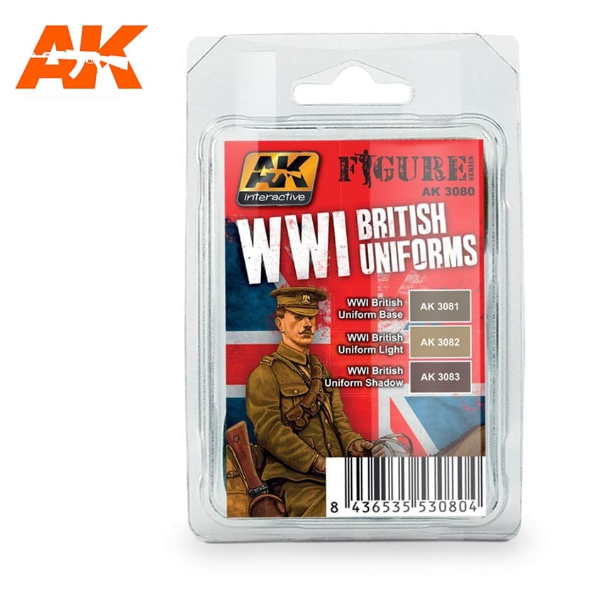AK Interactive WWI British Uniforms