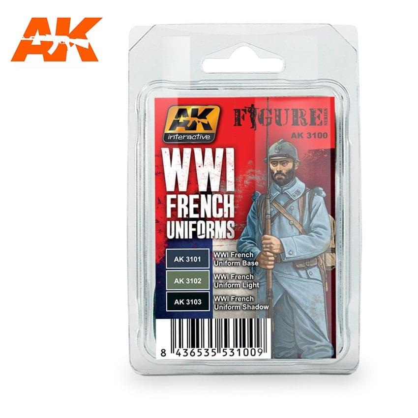 AK Interactive WWI French Uniforms