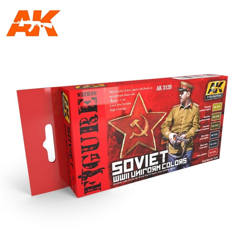 AK Interactive Soviet WWII Uniform Colors