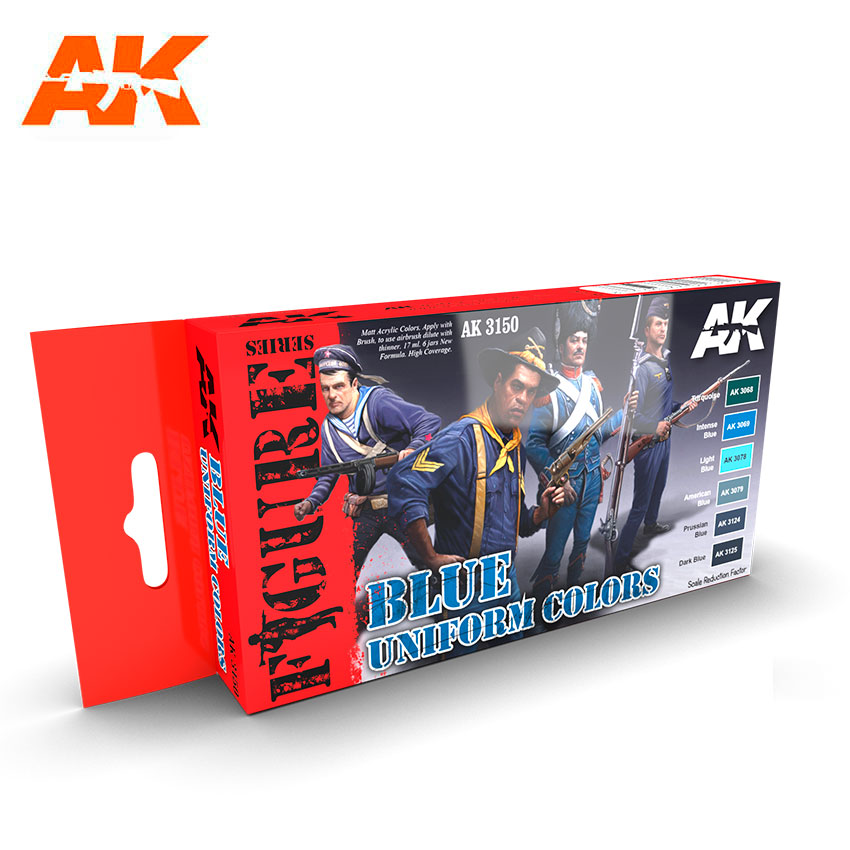 AK Interactive Blue Uniform Colors