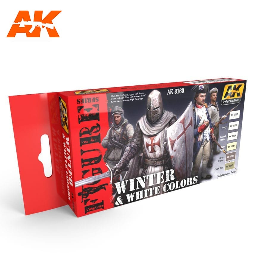 AK Interactive White And Winter Colors