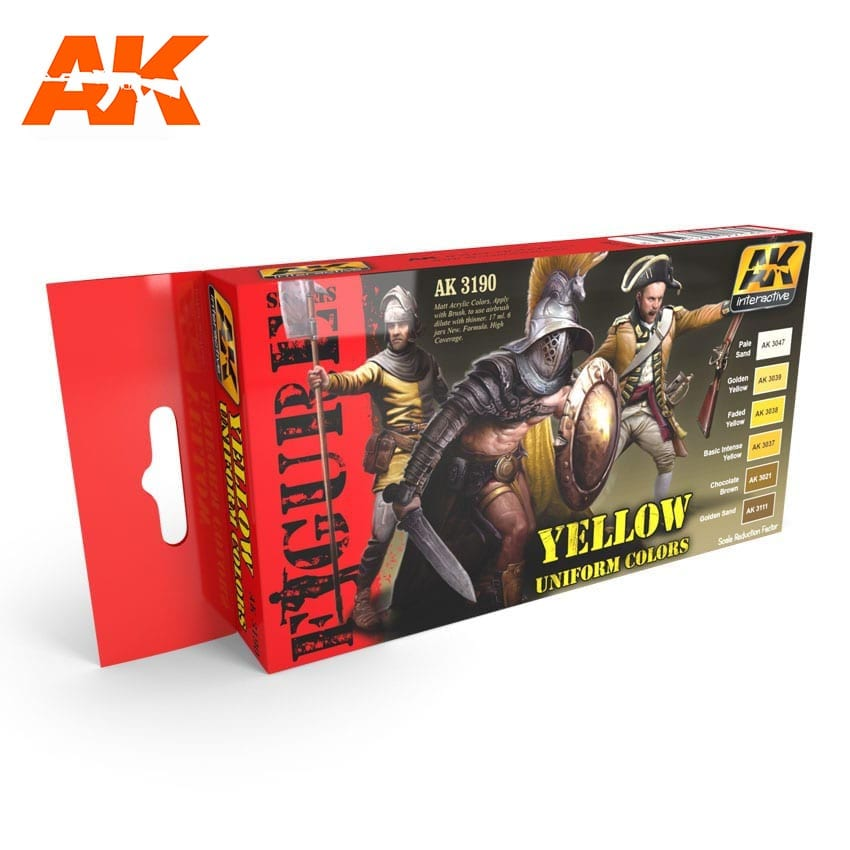 AK Interactive Yellow Uniform Colors