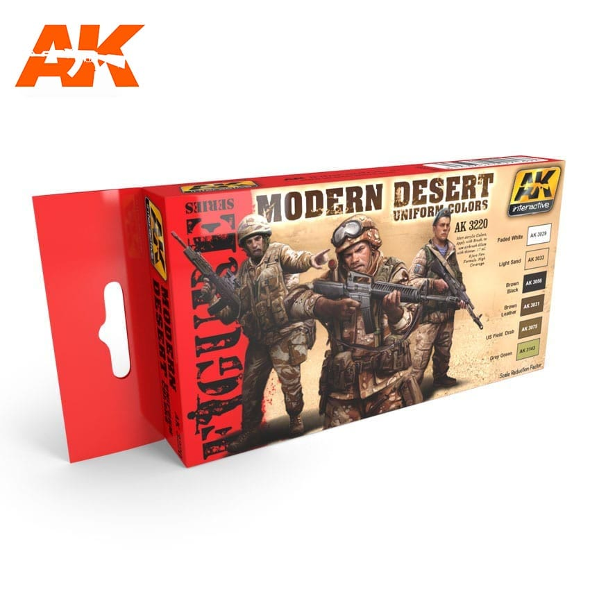 AK Interactive Modern Desert Uniform Colors