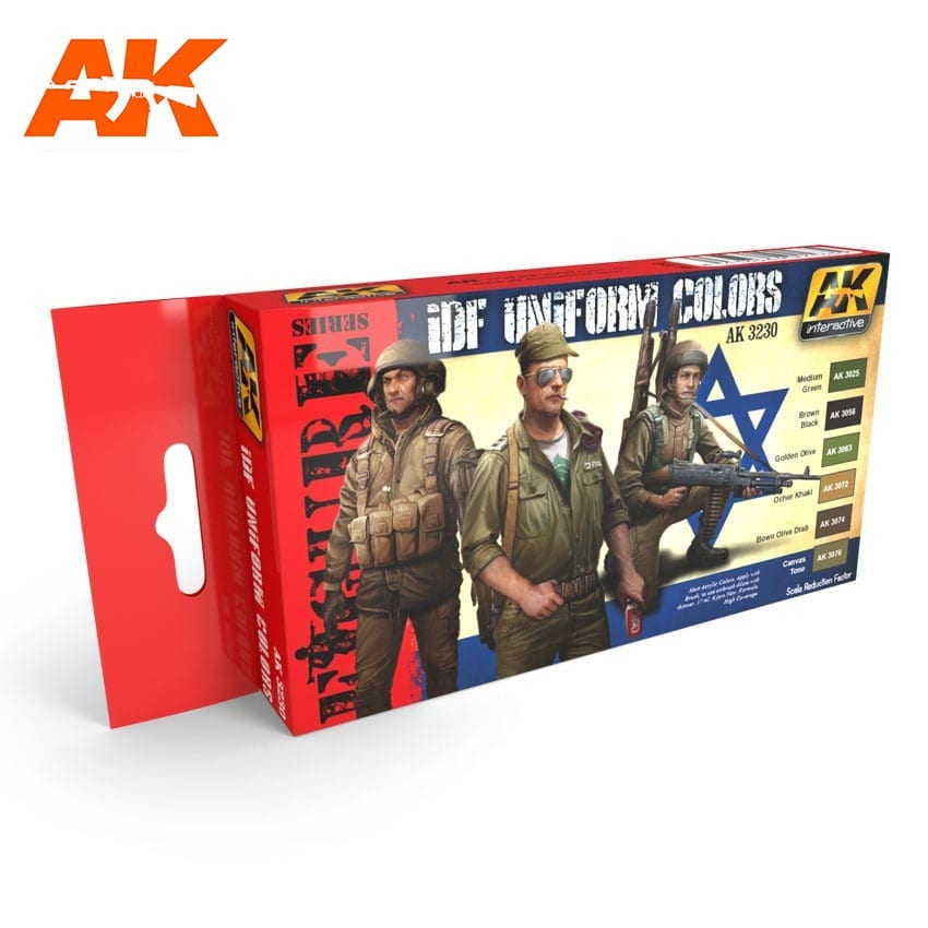 AK Interactive IDF Uniform Colors