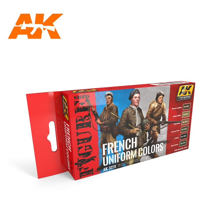 AK Interactive French Uniform Colors