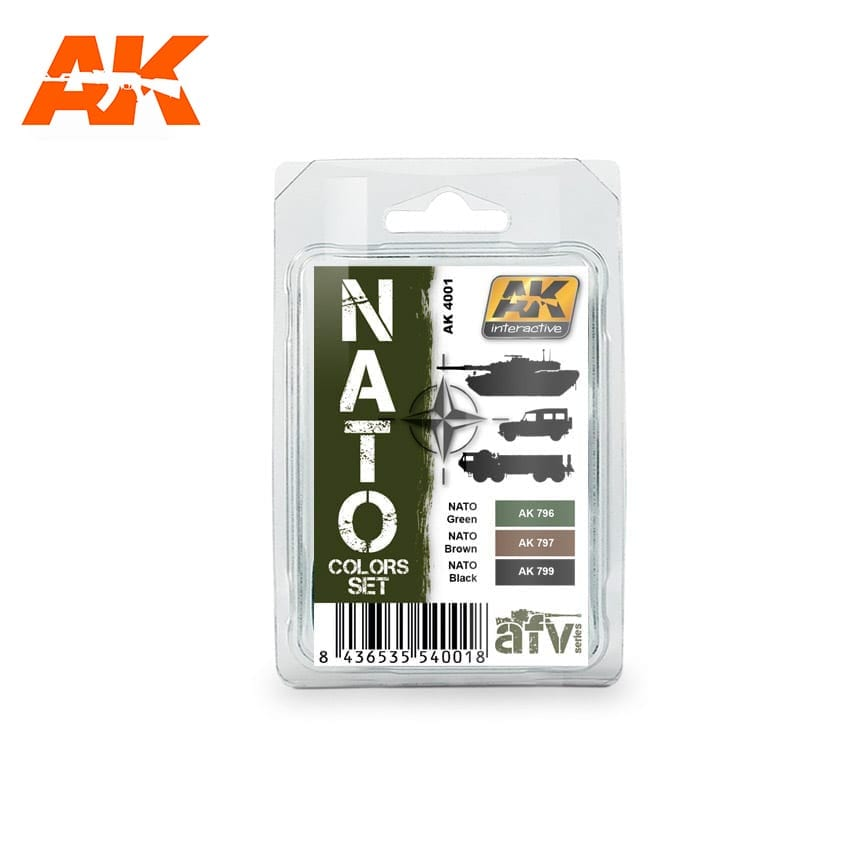 AK Interactive NATO Colors Set