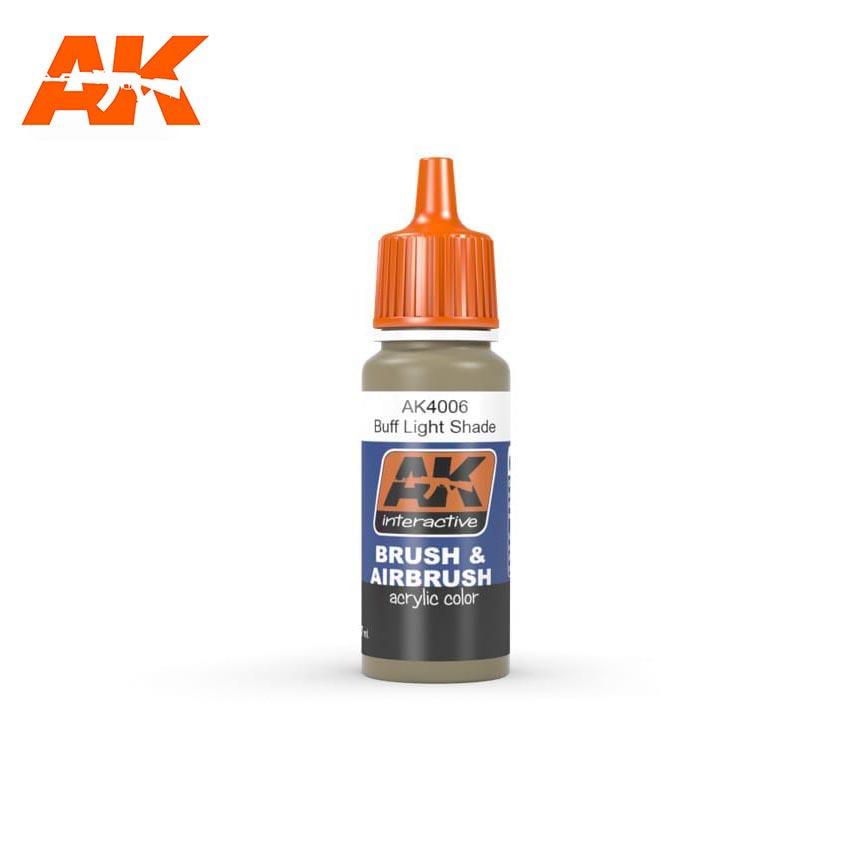 AK Interactive Buff Light Shade 17ml