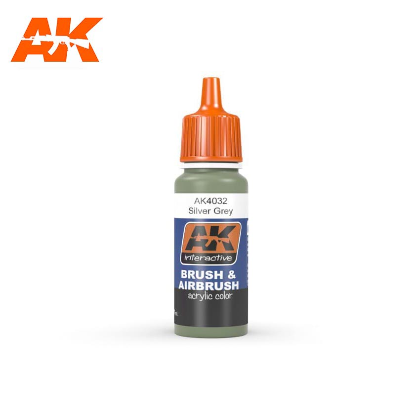 AK Interactive BSC. No28 Silver Grey 17ml