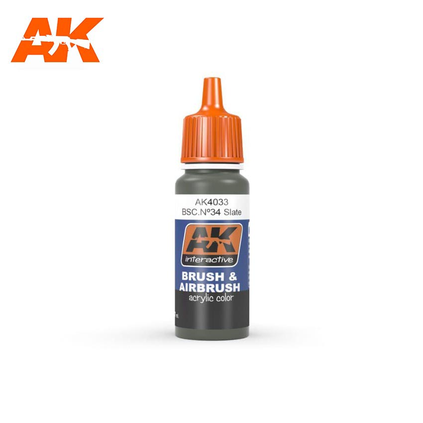 AK Interactive Bsc. No34 Slate 17ml