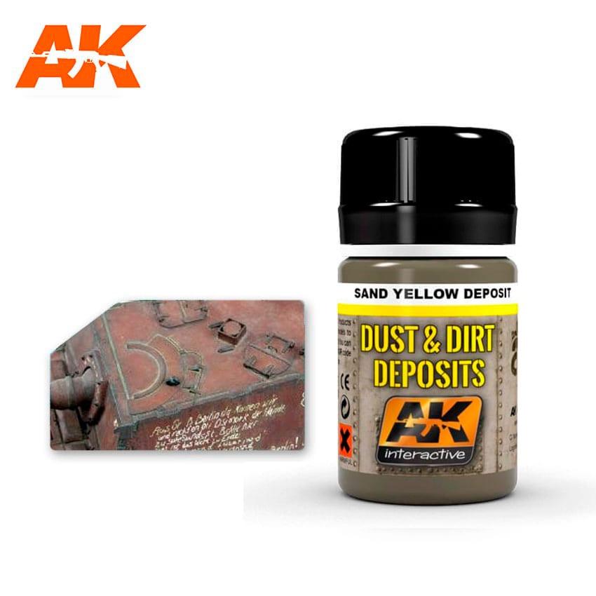 AK Interactive Sand Yellow Deposit