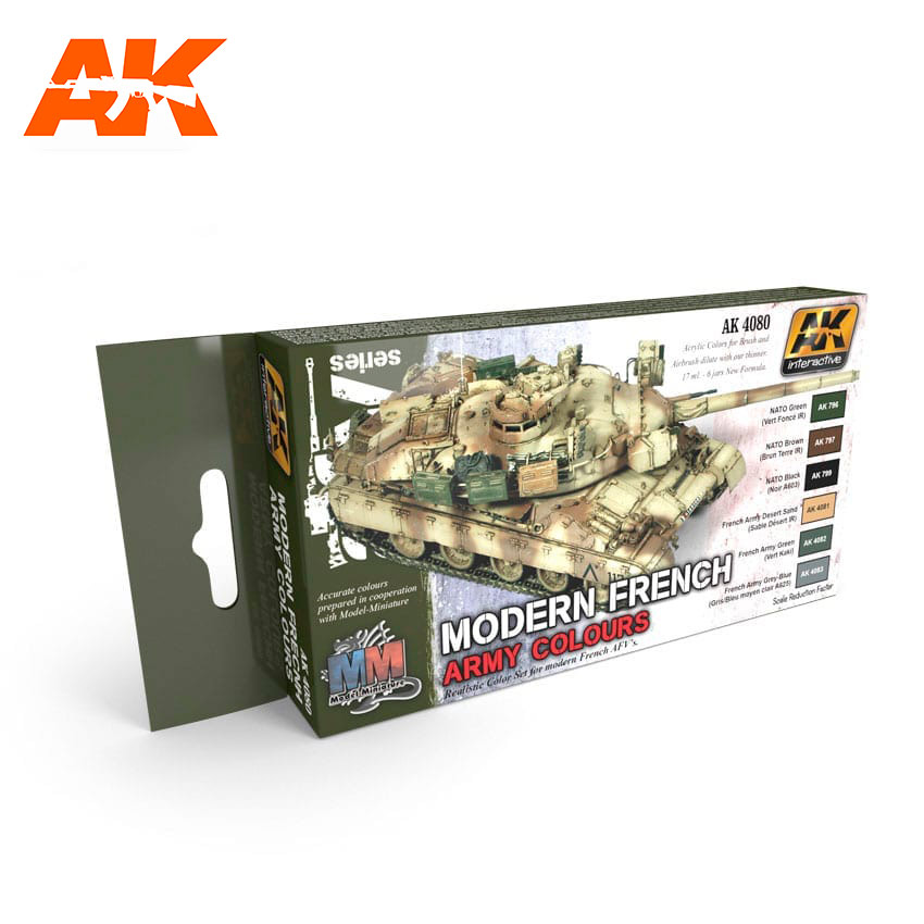 AK Interactive Modern French Army Colours