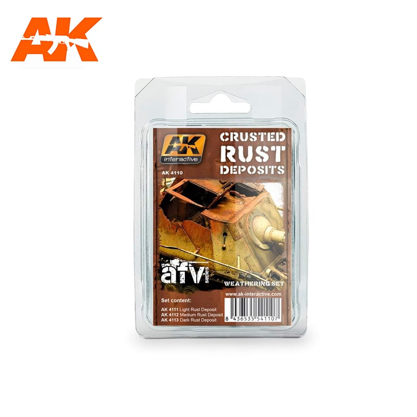 AK Interactive Crusted Rust Deposits