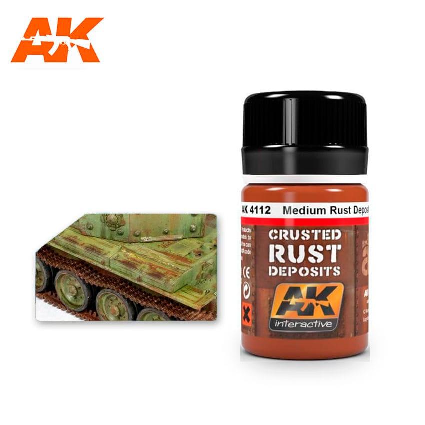 AK Interactive Medium Rust Deposit