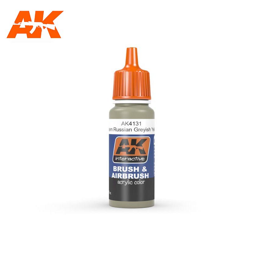 AK Interactive Greyish Yellow 17ml