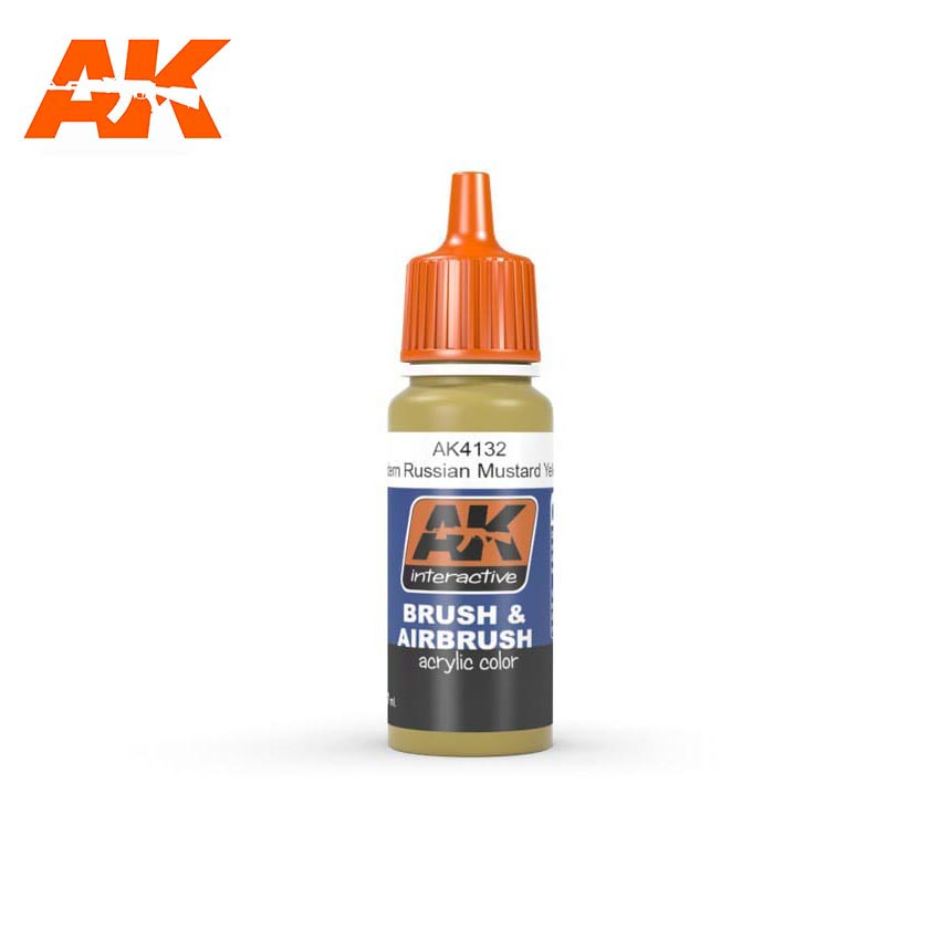 AK Interactive Mustard Yellow 17ml