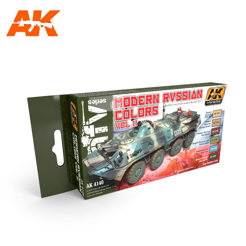 AK Interactive Modern Russian Colours Vol.2