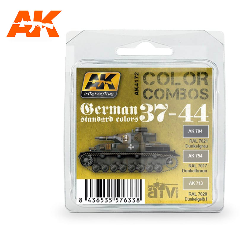 AK Interactive German Standard  37-44 Color Combo