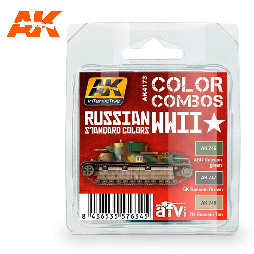AK Interactive Russian WWII Standard Colors Combo