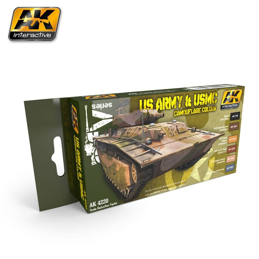 AK Interactive US Army & USMC Camouflage Colors