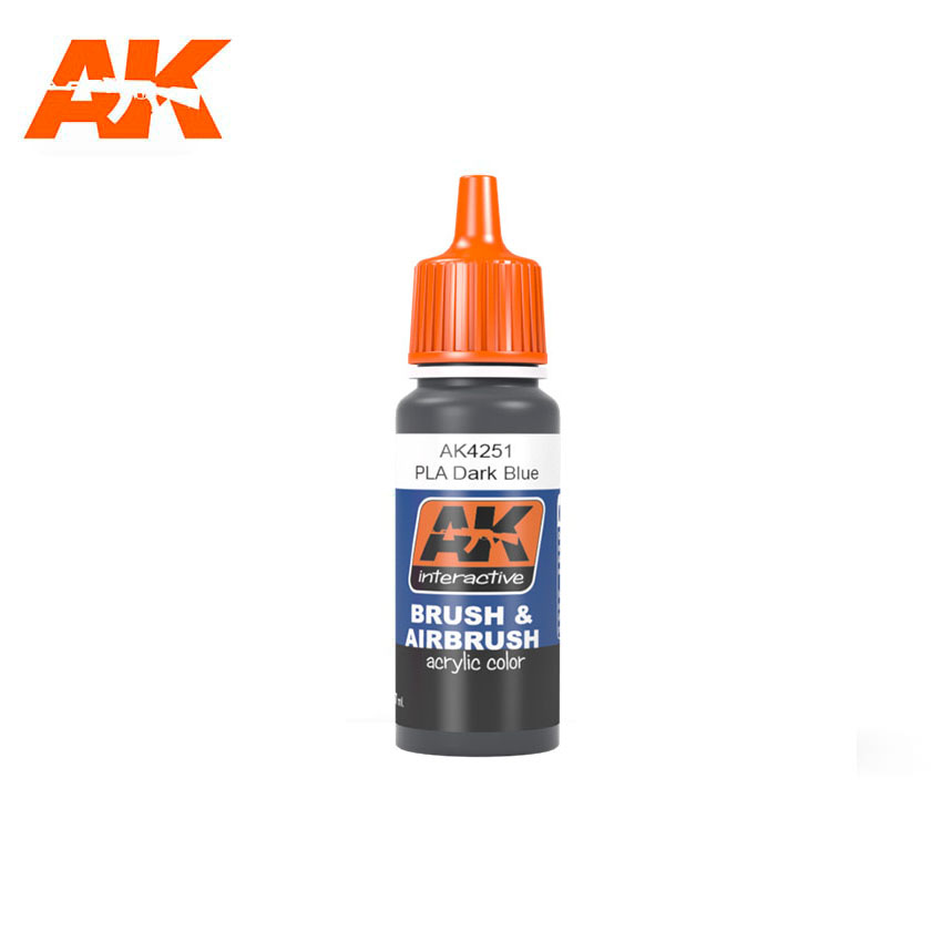 AK Interactive PLA Dark Blue 17ml