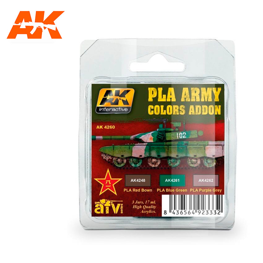AK Interactive PLA Army Colors Addon
