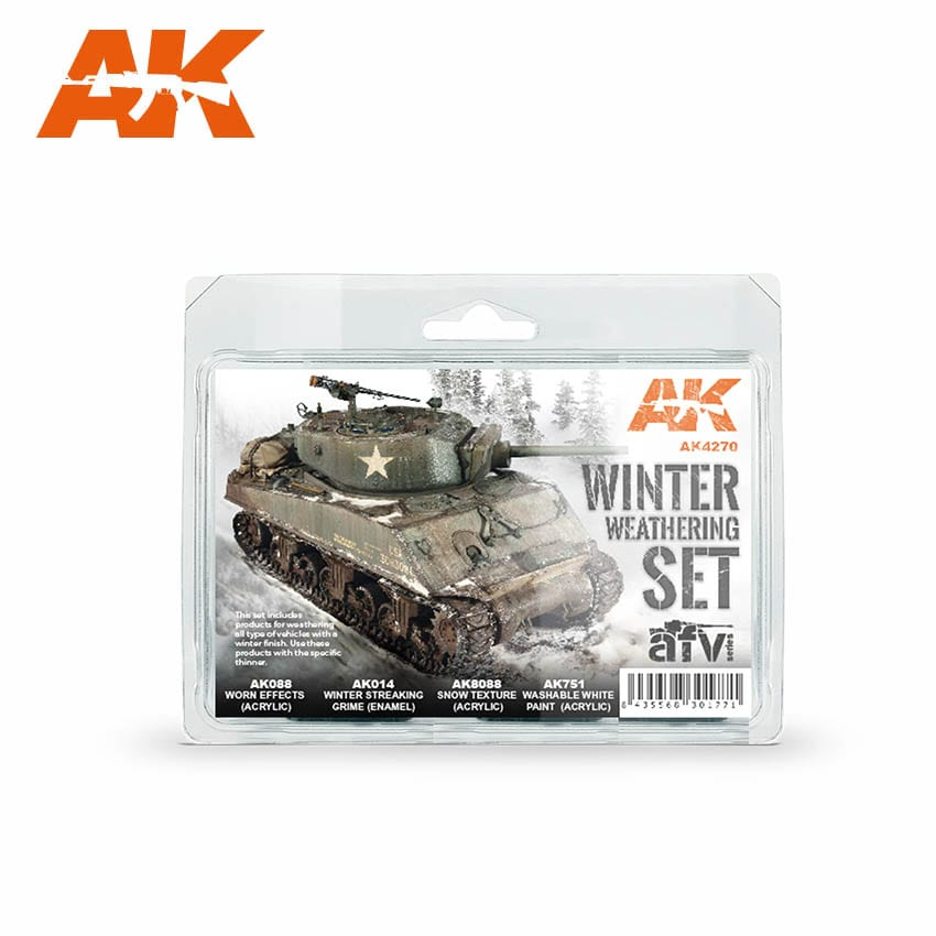 AK Interactive Winter Weathering Set