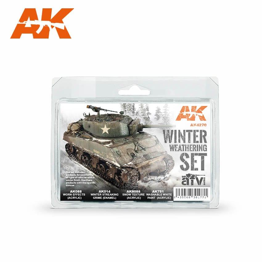 AK Interactive Winter Weathering Set
