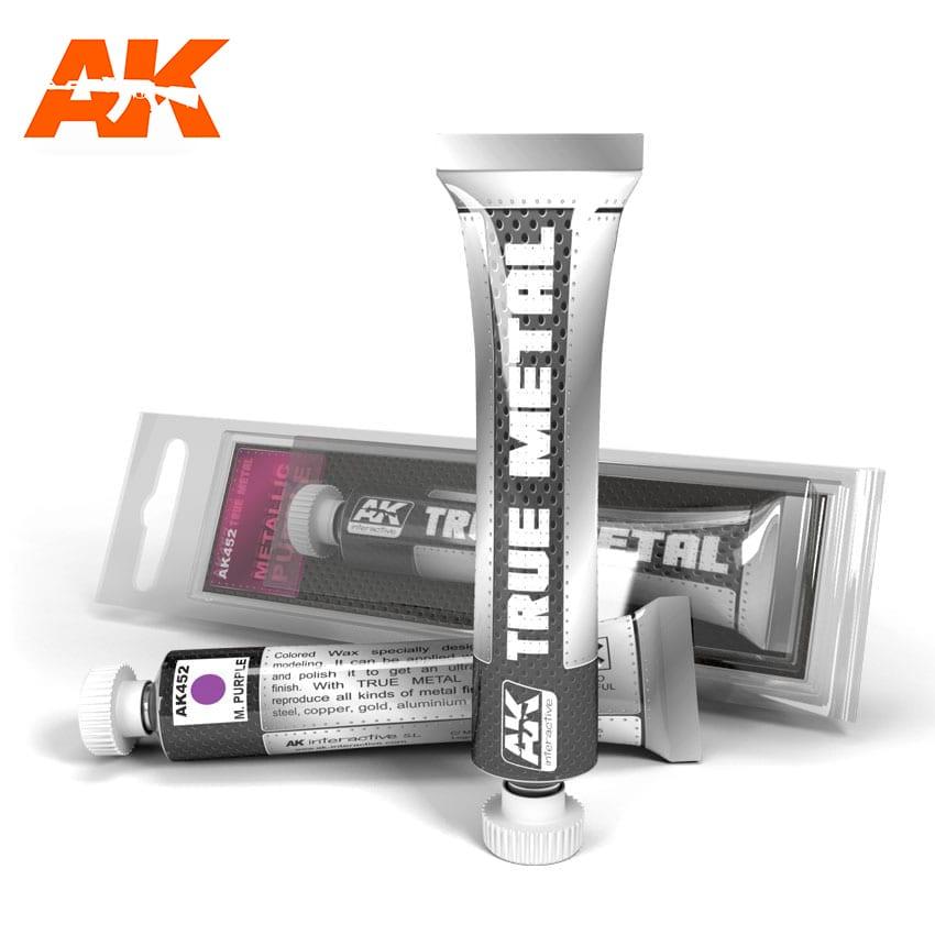 AK Interactive True Metal Metalic Purple