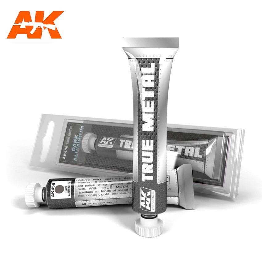 AK Interactive True Metal Dark Aluminium