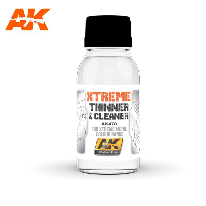 AK Interactive Xtreme Cleaner & Thinner For Xtreme Metal Colour Range