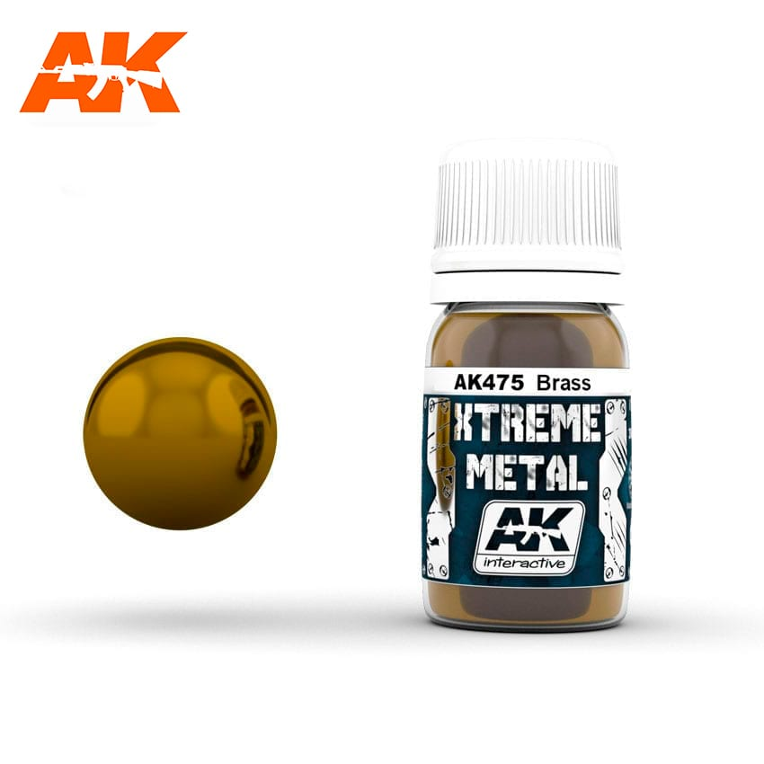 AK Interactive Xtreme Metal Brass