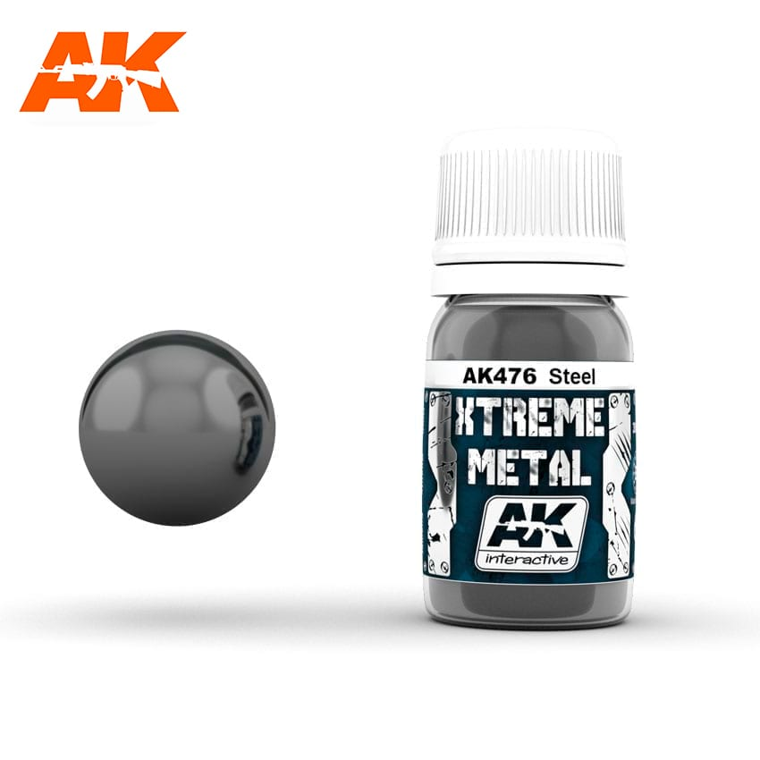 AK Interactive Xtreme Metal Steel