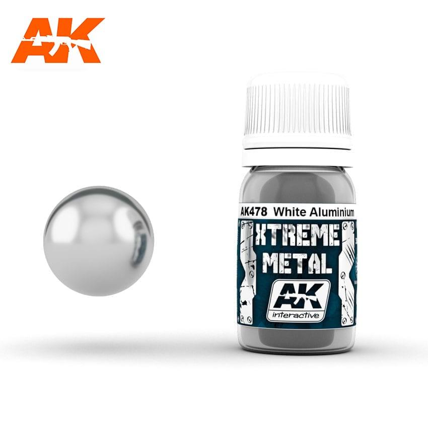 AK Interactive Xtreme White Aluminium