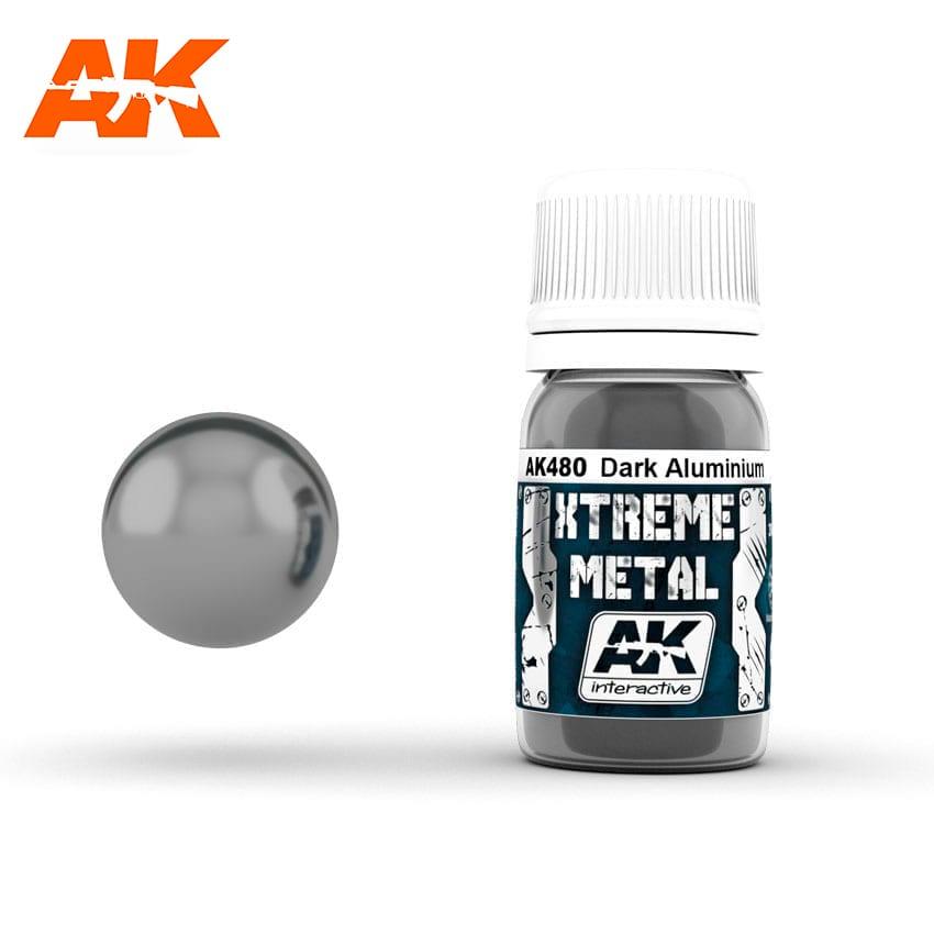 AK Interactive Xtreme Metal Dark Aluminium