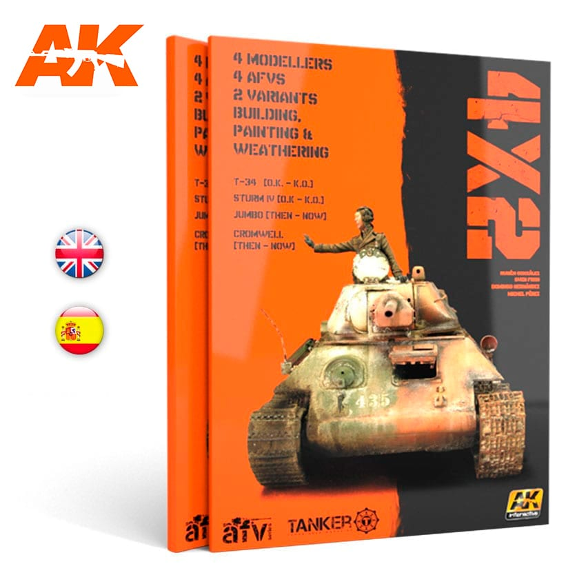 AK Interactive 4X2  - English