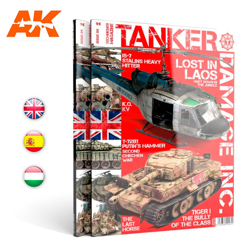"AK Interactive TANKER 04 ""DAMAGED INC."" - English"