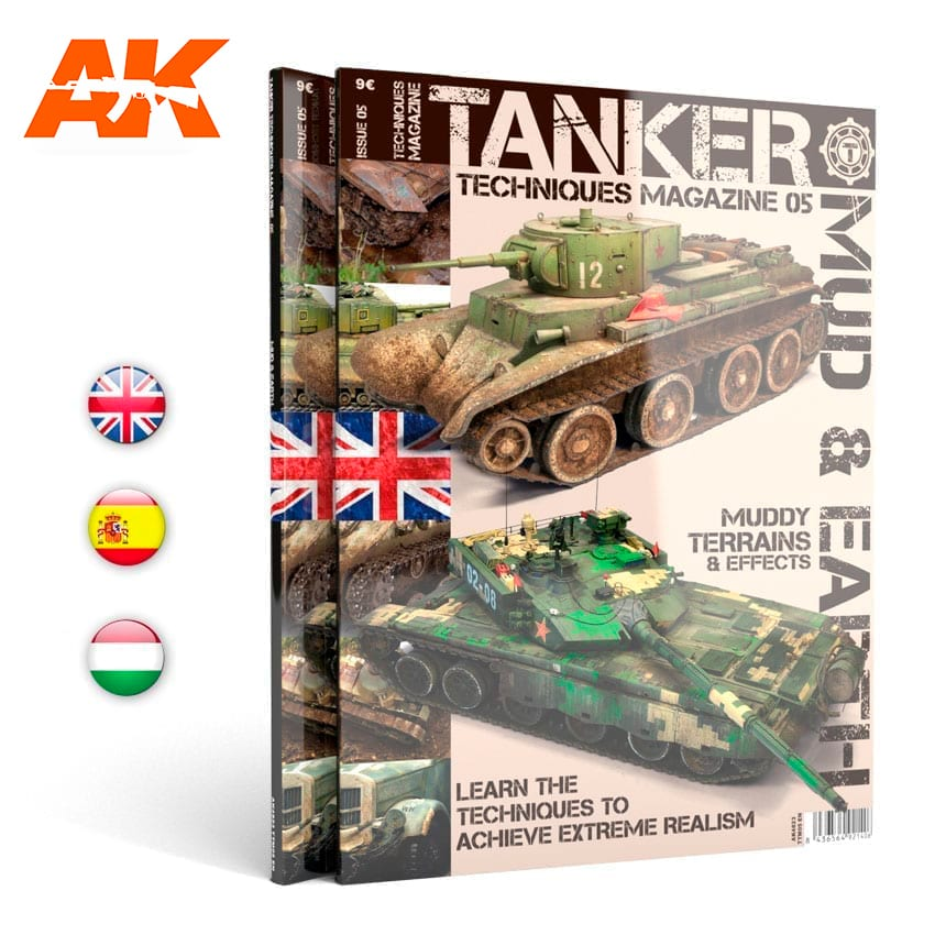 "AK Interactive TANKER 05 ""MUD""- English"